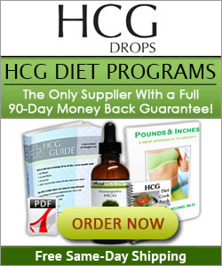 Official HCG Diet Plan and Drops